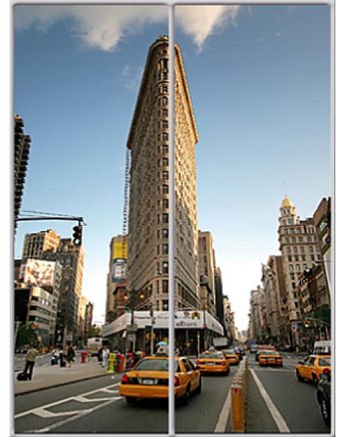 Шкаф-купе Стандарт двухдверный Фотопечать Архитектура