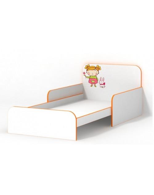 """Кровать с бортиками """"Мандаринка"""