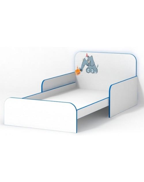 Кровать с бортиками Слоник