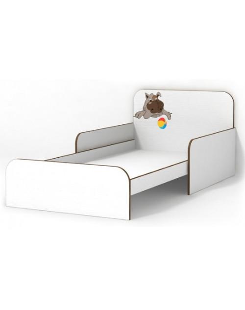 Кровать с бортиками Собачка