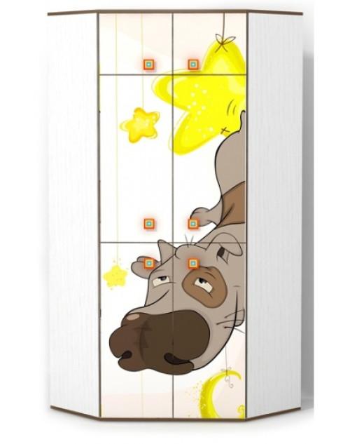 Шкаф угловой Собачка